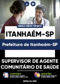 Supervisor de Agente Comunitário de Saúde - Prefeitura de Itanhaém-SP