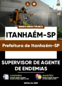 Supervisor de Agente de Endemias - Prefeitura de Itanhaém-SP