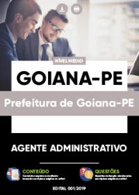 Agente Administrativo - Prefeitura de Goiana-PE
