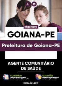Agente Comunitário de Saúde - Prefeitura de Goiana-PE