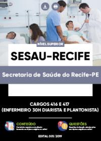 Cargos 416 e 417 - SESAU-Recife