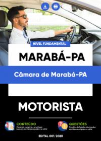 Motorista - Câmara de Marabá-PA