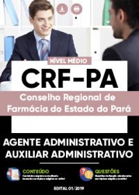 Agente Administrativo e Auxiliar Administrativo - CRF-PA