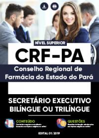 Secretário Executivo Bilíngue ou Trilíngue - CRF-PA
