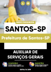 Auxiliar de Serviços Gerais - Prefeitura de Santos-SP