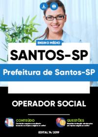 Operador Social - Prefeitura de Santos-SP
