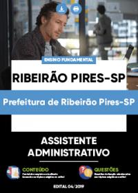 Assistente Administrativo - Prefeitura de Ribeirão Pires-SP