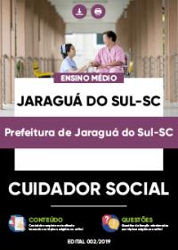 Cuidador Social - Prefeitura de Jaraguá do Sul-SC
