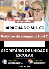 Secretário de Unidade Escolar - Prefeitura de Jaraguá do Sul-SC