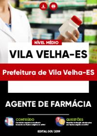 Agente de Farmácia - Prefeitura de Vila Velha-ES