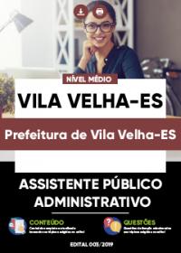 Assistente Público Administrativo - Prefeitura de Vila Velha-ES