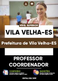 Professor Coordenador - Prefeitura de Vila Velha-ES
