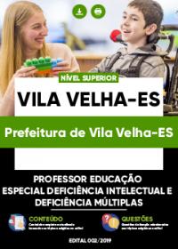 Professor Educação Especial - Prefeitura de Vila Velha-ES
