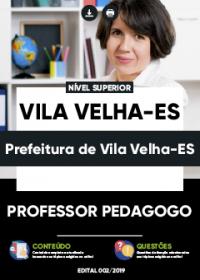 Professor Pedagogo - Prefeitura de Vila Velha-ES