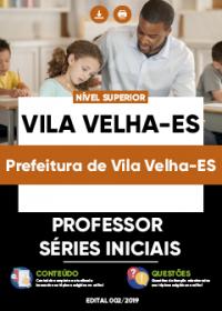 Professor Séries Iniciais - Prefeitura de Vila Velha-ES