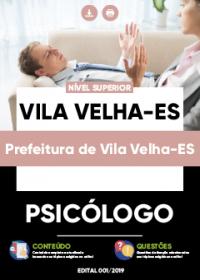 Psicólogo - Prefeitura de Vila Velha-ES
