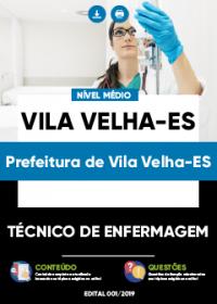 Técnico de Enfermagem - Prefeitura de Vila Velha-ES
