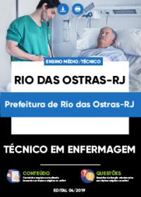 Técnico em Enfermagem - Prefeitura de Rio das Ostras-RJ