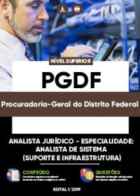 Analista Jurídico - Analista de Sistema - Suporte e Infraestrutura - PGDF