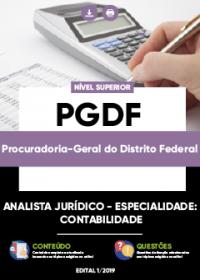 Analista Jurídico - Contabilidade - PGDF