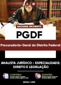 Analista Jurídico - Direito e Legislação - PGDF