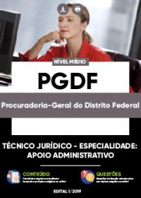 Técnico Jurídico - Apoio Administrativo - PGDF