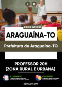 Professor 20h - Prefeitura de Araguaína-TO