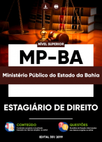 Estagiário de Direito - MP-BA
