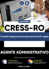 Agente Administrativo - CRESS-RO