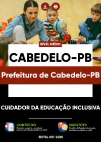 Cuidador da Educação Inclusiva - Prefeitura de Cabedelo-PB