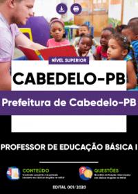 Professor de Educação Básica I - Prefeitura de Cabedelo-PB