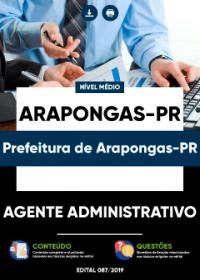 Agente Administrativo - Prefeitura de Arapongas-PR