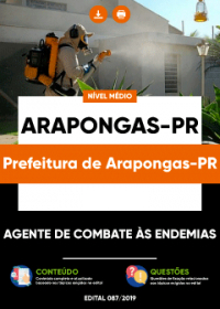 Agente de Combate às Endemias - Prefeitura de Arapongas-PR