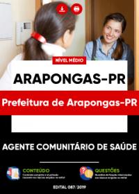 Agente Comunitário de Saúde - Prefeitura de Arapongas-PR