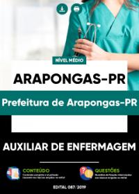 Auxiliar de Enfermagem - Prefeitura de Arapongas-PR