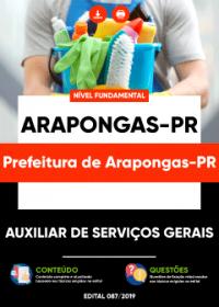 Auxiliar de Serviços Gerais - Prefeitura de Arapongas-PR