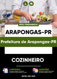 Cozinheiro - Prefeitura de Arapongas-PR