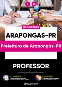 Professor - Prefeitura de Arapongas-PR
