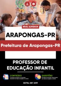 Professor de Educação Infantil - Prefeitura de Arapongas-PR