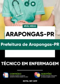 Técnico em Enfermagem - Prefeitura de Arapongas-PR