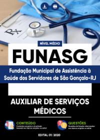 Auxiliar de Serviços Médicos - FUNASG