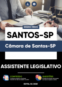 Assistente Legislativo - Câmara de Santos-SP