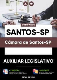 Auxiliar Legislativo - Câmara de Santos-SP