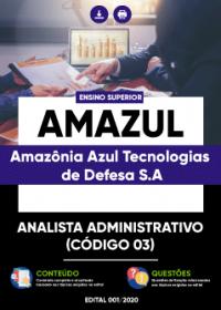 Analista Administrativo - AMAZUL