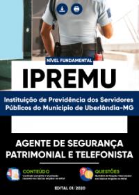 Agente de Segurança Patrimonial e Telefonista - IPREMU