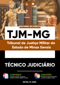 Técnico Judiciário - Bacharel em Direito - TJM-MG