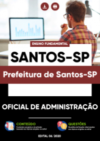 Oficial de Administração - Prefeitura de Santos-SP