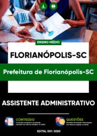 Assistente Administrativo - Prefeitura de Florianópolis-SC