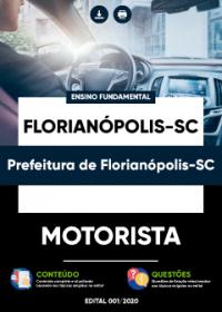 Motorista - Prefeitura de Florianópolis-SC