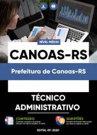 Técnico Administrativo - Prefeitura de Canoas-RS